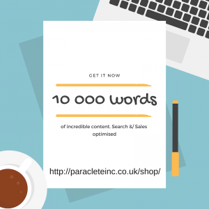 10 000 words sales or search optimised copy