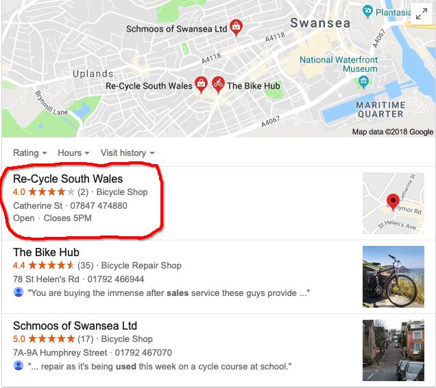 Second hand bikes Swansea